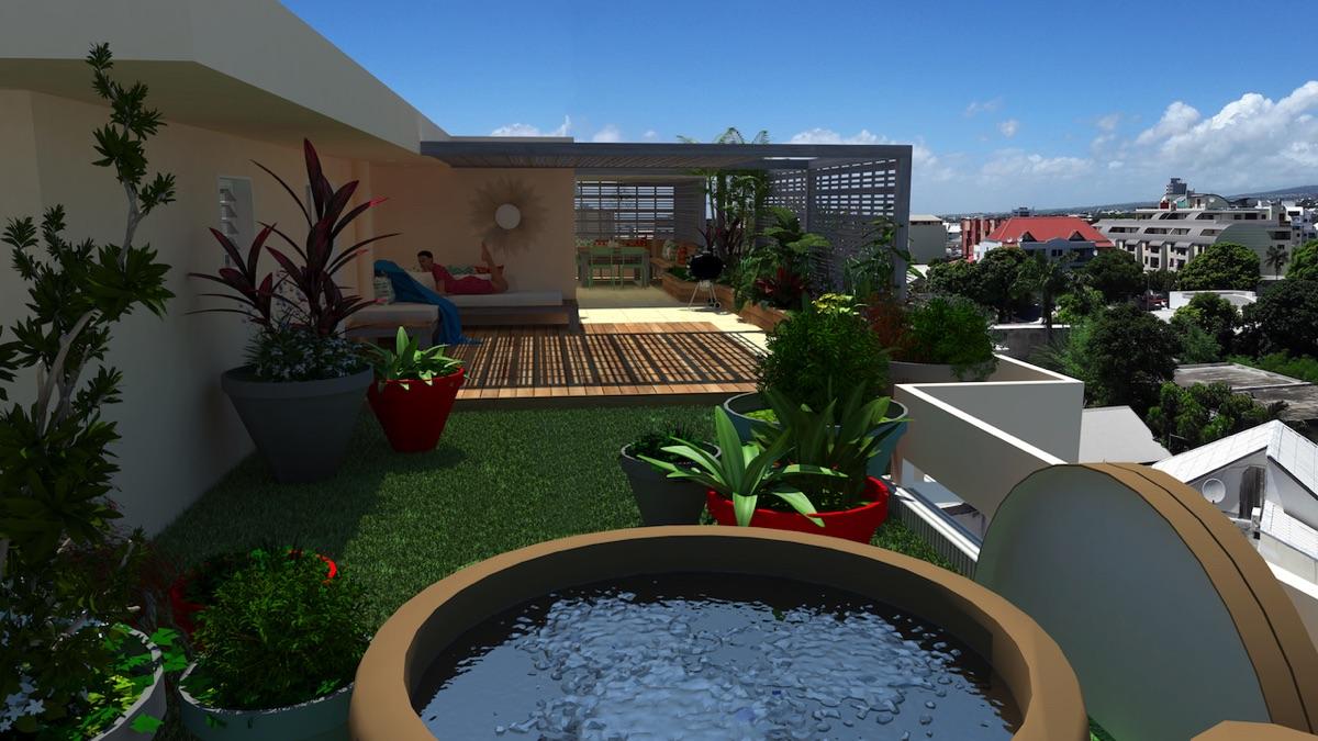 Aménagement extérieur à La Réunion